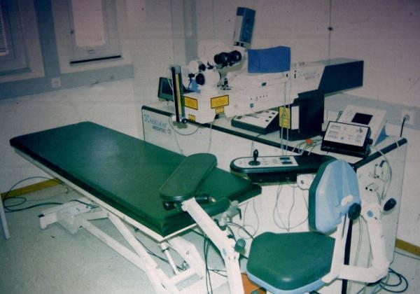 Historie der refraktiven Chirurgie - Excimerlaser Pallikaris